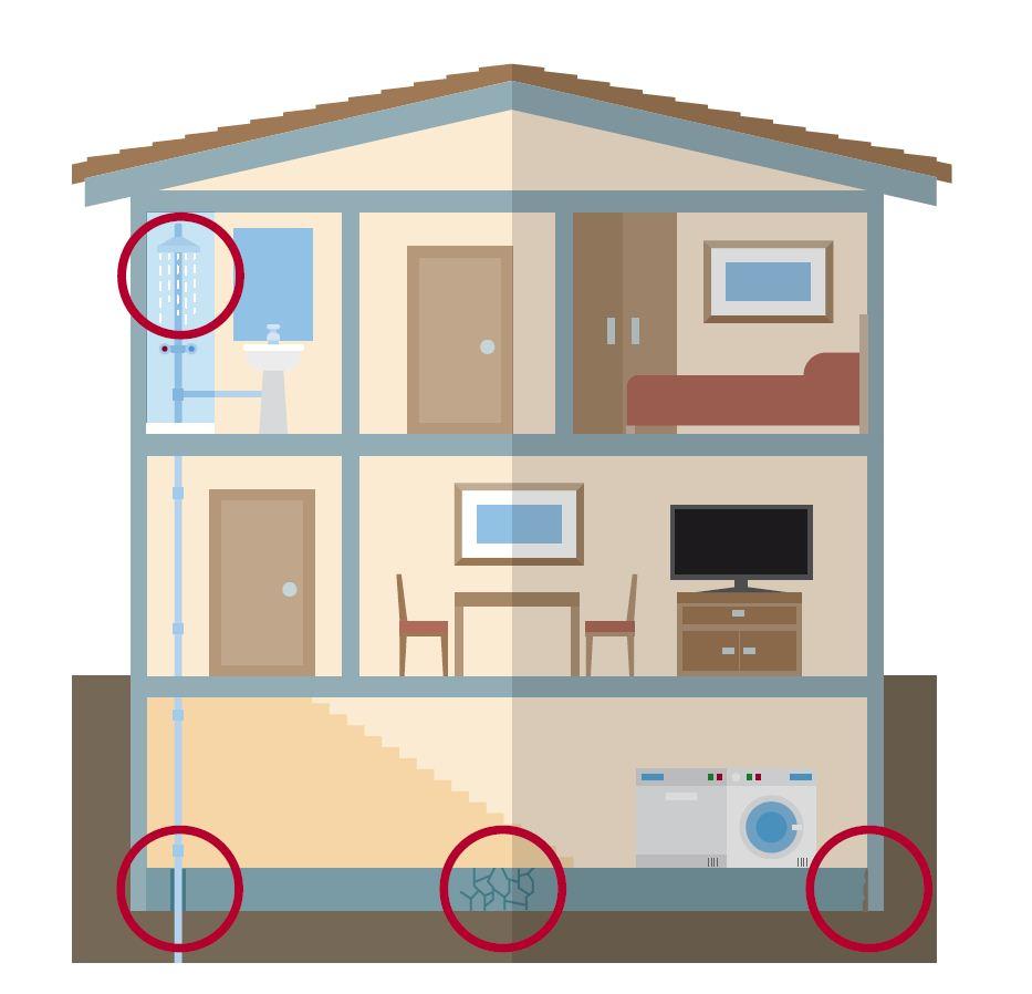 como eliminar el gas radon de unac casa