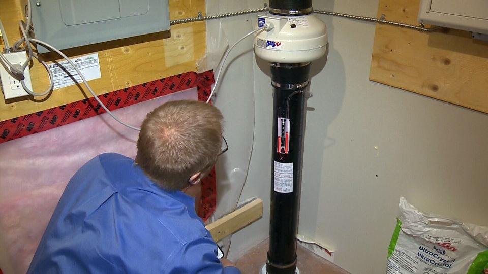 detectar gas radon