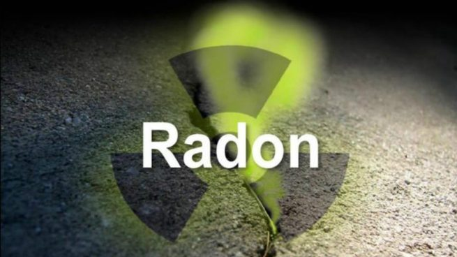 gas radon advertencia