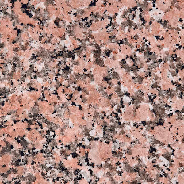 gas radon granito rosa
